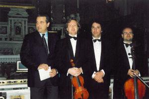 2003-04: Concerto di Pasqua nella Chiesa del Gesù
