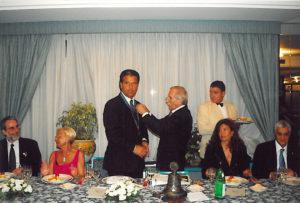 2003-04: Scambio delle consegne tra Enrico De Simone e Stefano Lauro