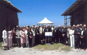 2004-05: La cerimonia del Cinquantenario del Club agli scavi di Stabiae
