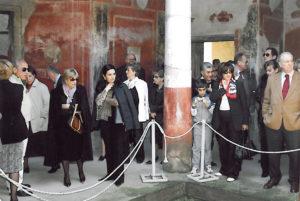 2005-06: Rotariani di Potenza in visita agli scavi di Stabiae