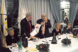2008-09: Visita del Governatore Guido Parlato