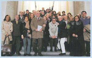 2009-10: Soci in visita al museo Archeologico virtuale di Ercolano