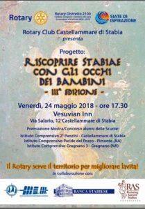 2018-19: Conclusione della III edizione del Progetto 'Riscoprire Stabiae con gli occhi dei bambini'