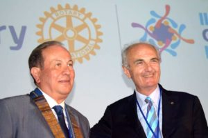 2018-19: Lo scambio delle Consegne tra il Governatore uscente Salvatore Iovieno e l'entrante Pasquale Verre