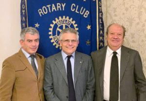 2019-20: Assemblea dei soci: il Presidente Francesco Di Somma tra l'incoming Massimo Carosella e il designato Pasquale Di Somma